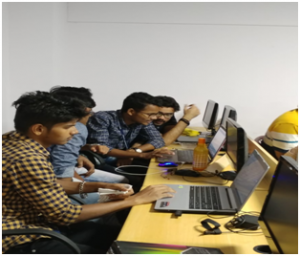 Coding & uploading of program