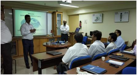 VISIT AT SMC PNEUMATICS INDIA(P) LTD