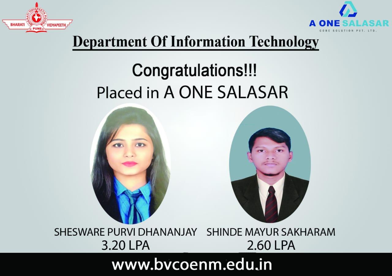 6.A One Salasar Pvt Ltd