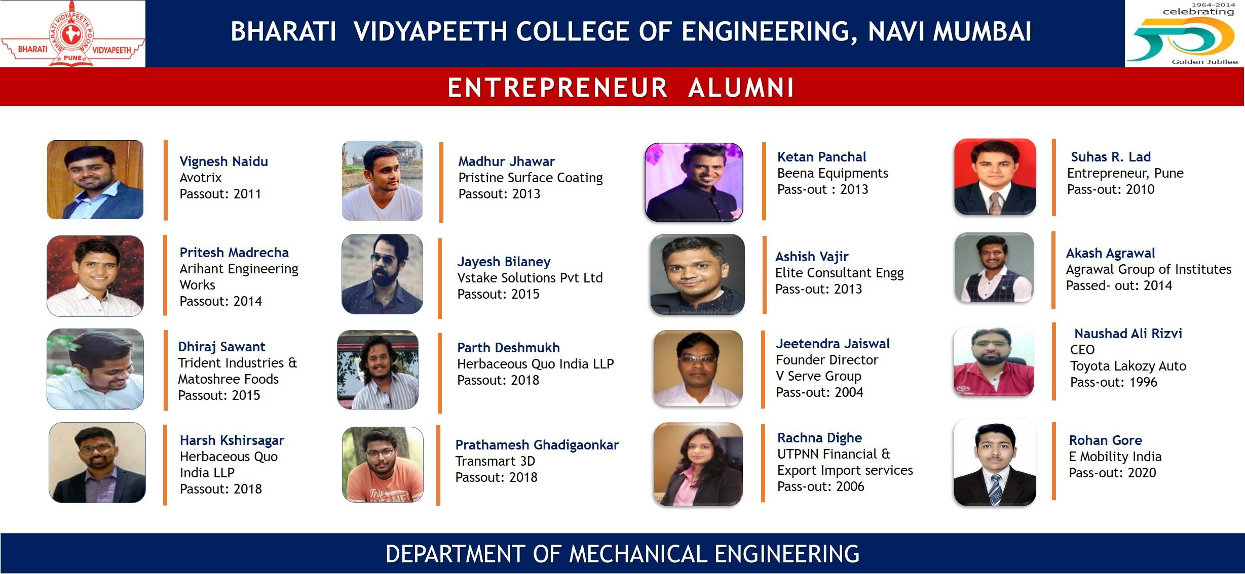 Alumni- Enterprenuer